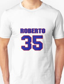 National Hockey player Roberto Romano jersey 35 T-Shirt