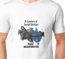 RAAF Beaufighter A Century of Aerial Warfare Unisex T-Shirt
