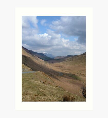 Lakeland Fells Art Print