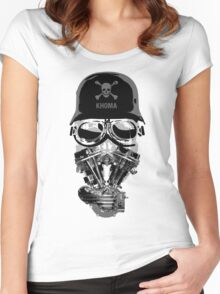 Khoma Women's Fitted Scoop T-Shirt