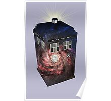 TARDIS Illustrated- Galaxy Poster