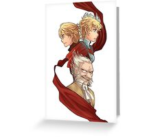 Radiant Historia Greeting Card