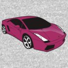 Pink Lamborghini Gallado by pinner84
