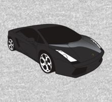 Black Lamborghini Gallado by pinner84