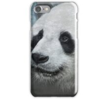 Munching Panda - Textured iPhone Case/Skin