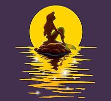 The Minimal Mermaid Photographic Print