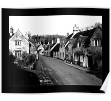 Castle Combe Aged Poster