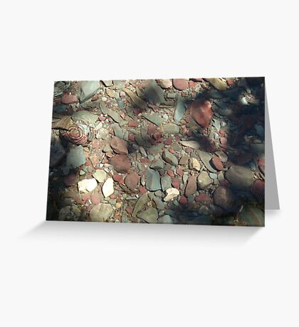 COOL WATER DIMPLE Greeting Card
