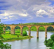 Royal Border Bridge II by Tom Gomez
