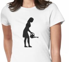 Florist Gardener Womens Fitted T-Shirt
