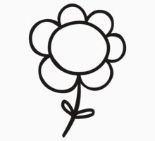 Flower One Piece - Long Sleeve