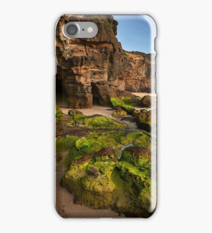 Caves Beach Moss iPhone Case/Skin