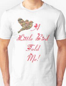 A LITTLE BIRD TOLD ME T-Shirt