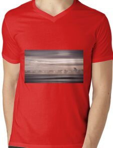 Ocean Sky Mens V-Neck T-Shirt
