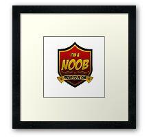 Noob Pride Framed Print