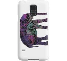 Purple Elephant Samsung Galaxy Case/Skin