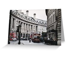 Picadilly Circus Greeting Card