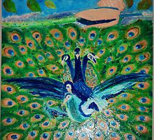 Love Time: The Peacocks by Sunil