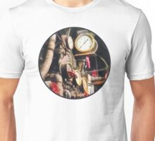 Trains - Inside Cab of Steam Locomotive Unisex T-Shirt