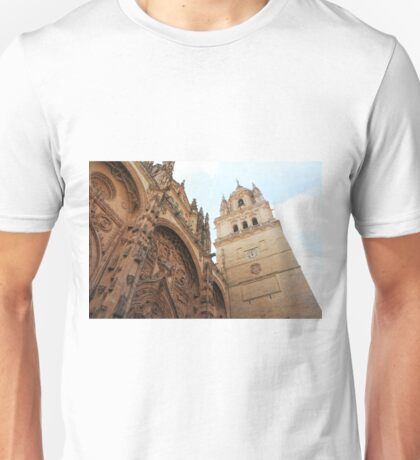 Salamanca Cathedral, Spain Unisex T-Shirt