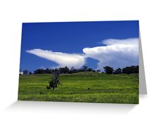 Thunder heads Greeting Card