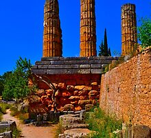 Delphi Oracle by purelightimages