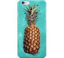 Vintage Swimming Pineapple iPhone Case/Skin