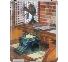 Trains - Station Master's Office iPad Case/Skin