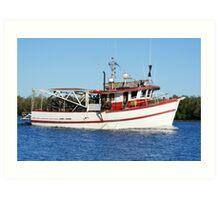 Barra Boat Art Print