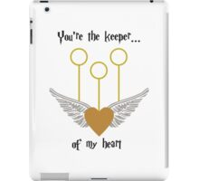 Keeper of my Heart iPad Case/Skin