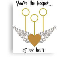 Keeper of my Heart Canvas Print