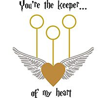 Keeper of my Heart Photographic Print