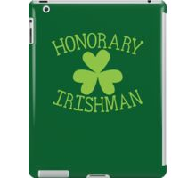 Honorary Irishman with green shamrock iPad Case/Skin