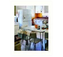 Fifties Kitchen Art Print