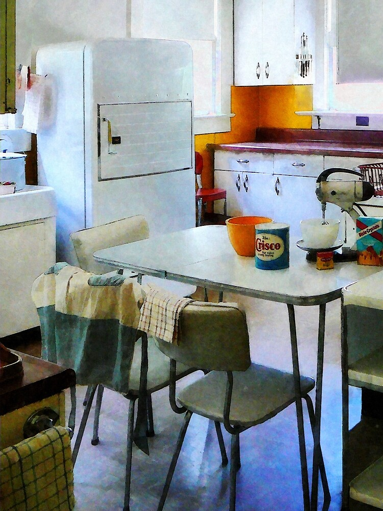 Fifties Kitchen by Susan Savad
