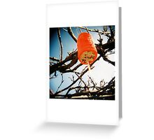 Red Lantern 1 Greeting Card