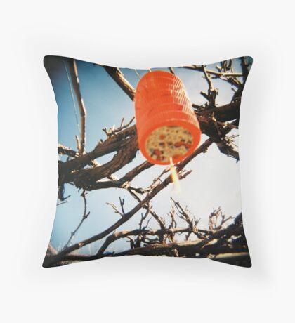 Red Lantern 1 Throw Pillow
