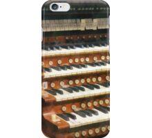 Organ Keyboard iPhone Case/Skin