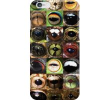 Frog eyes iPhone Case/Skin