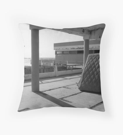 the Motel Throw Pillow