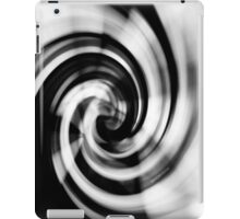 Psychmaster Whirlpool BW Side iPad Case/Skin