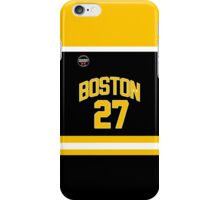Boston Blades - Knight #27 iPhone Case/Skin