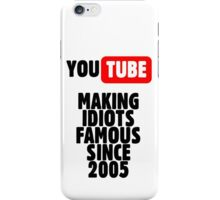 Idiots of YouTube iPhone Case/Skin