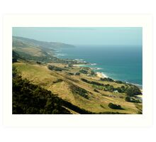 Mariner's Lookout Great Ocen Rd Art Print
