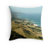 Mariner's Lookout Great Ocen Rd Throw Pillow