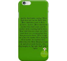 The Holy Hand Grenade of Antioch iPhone Case/Skin