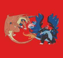 Mega Charizard Battle by Ishmi