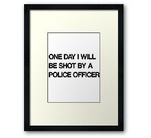 cop Framed Print
