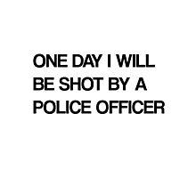 cop Photographic Print