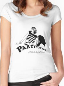 Ready to Party Women's Fitted Scoop T-Shirt